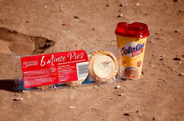 Festive Treats on the Beach