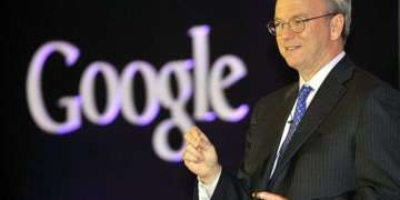 Eric Schmidt, presidente ejecutivo de Google