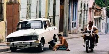 Motos en Santiago de Cuba