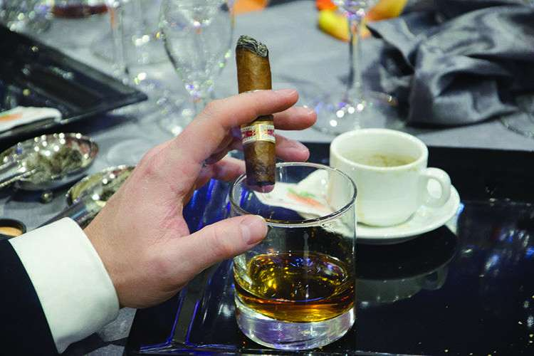 Habanos are made by combining six types of leaves with different characteristics