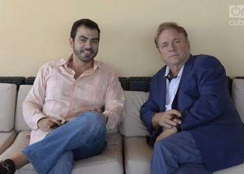 Freddy Balsera and Stephen Zack. Photo: Alain L Gutiérrez Almeida