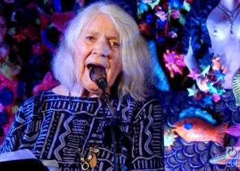 Barbara Dane sings songs from her album Throw It Away.