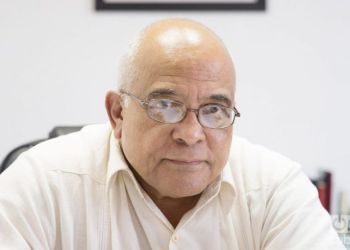 Orlando Hernández Guillén, president of the Cámara de Comercio of Cuban Republic and member of the Organizer Committee of FIHAV. Photo by Gabriel Guerra Bianchini.
