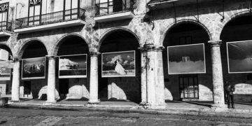 "Photomontage of ""…Es la esperanza"" (It's hope), by Gabriel Guerra Bianchini. Photo: Iván Soca."