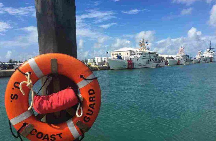 U.S. Coast Guard, Key West, Florida. Photo: Melissa Block / NPR.