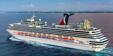 The Carnival Sunshine will be the largest cruise ship to travel to Cuba. Photo: travelweekly.com