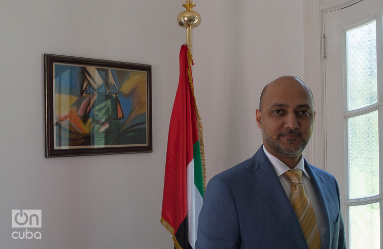 His Excellency Mr. Bader Abdullah Al Matrooshi, ambassador of the United Arab Emirates in Cuba. Photo: Otmaro Rodríguez.