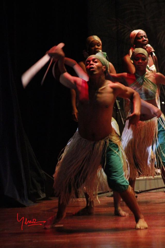 Compañía de Danzas Tradicionales de Cuba J.J. Foto: Facebook.
