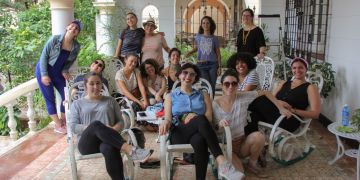 Participants of the Unidas trip, organized by CubaOne. Photo: Courtesy of CubaOne.
