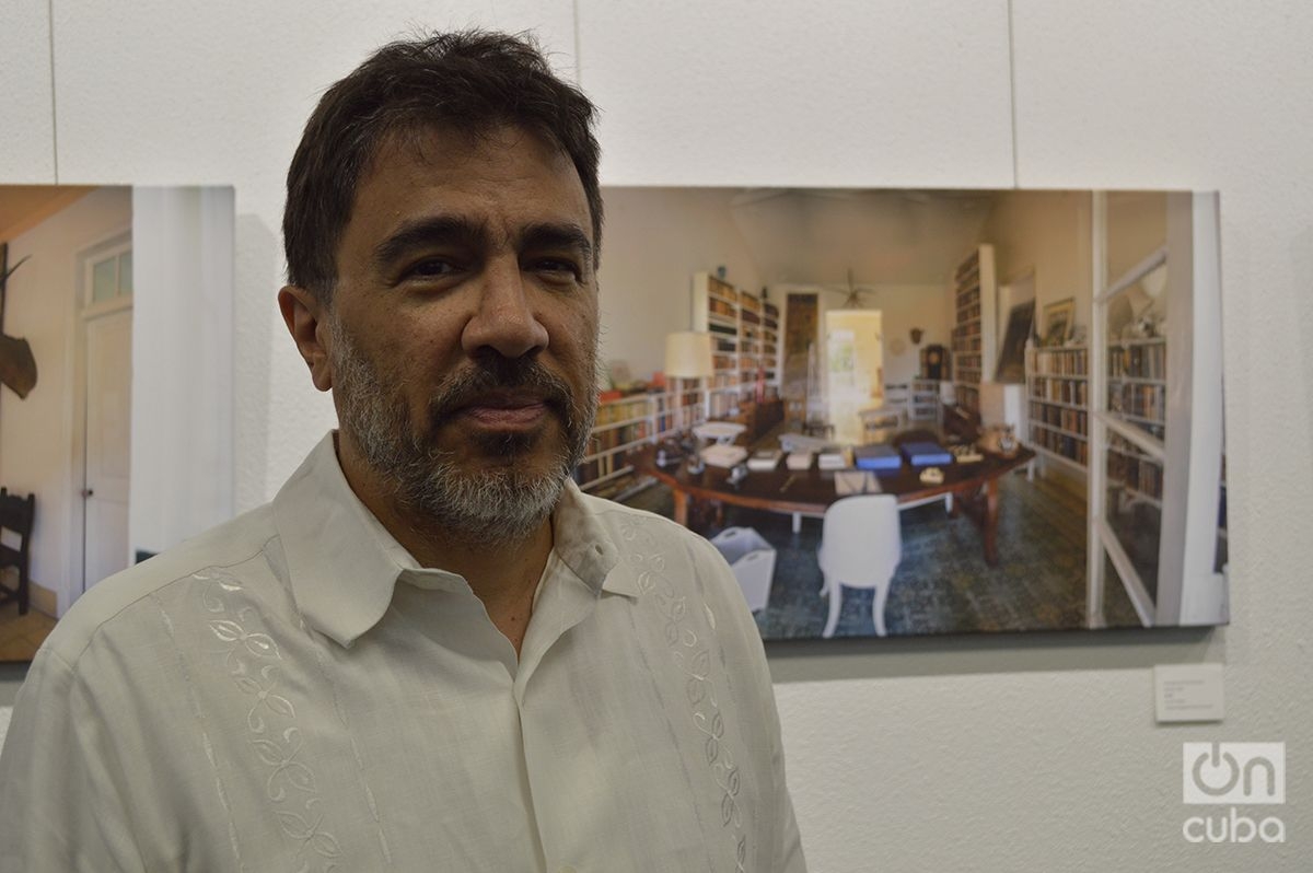 Hugo Fernández, photographer and CUNY professor. Photo: Marita Pérez Díaz.