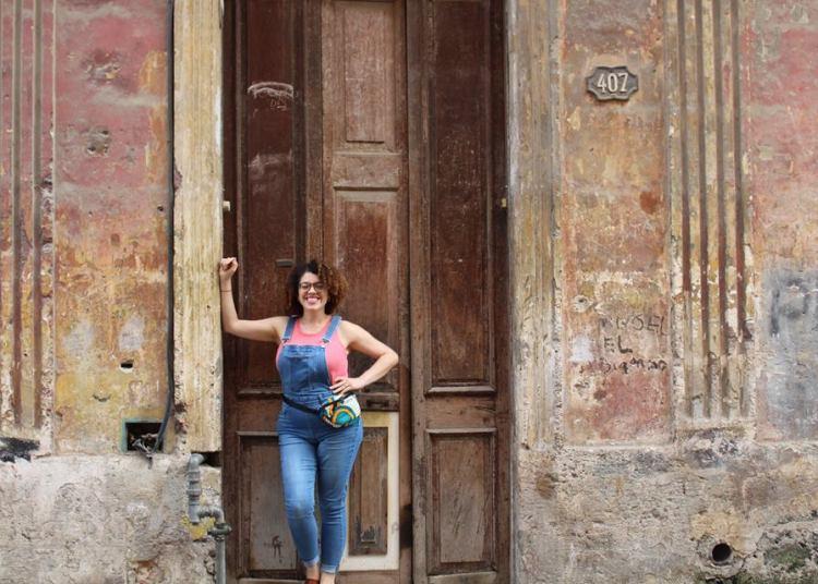 Haidee Cano in Havana. Photo: Courtesy of the interviewee.