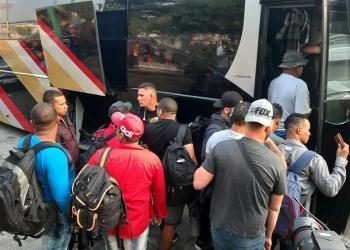 Cuban immigrants in Tapachula, Mexico. Photo: Juan Manuel Blanco / EFE.