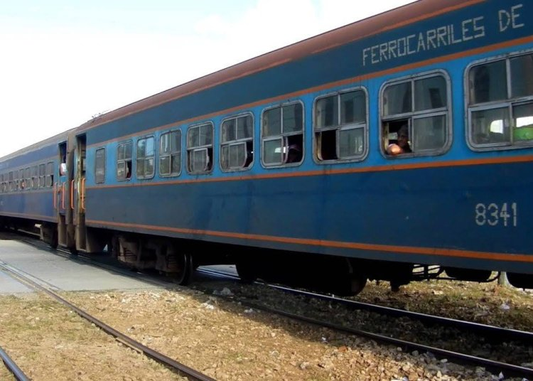National used railroad cars in Cuba. Photo: trabajadores.cu / Archive.