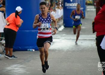 The United States was, after Cuba, the most represented country in the 32nd edition of the Marabana, held in 2018. Photo. Otmaro Rodríguez / Archive.