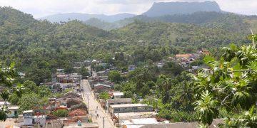 El Yunque from Hotel El Castillo, Baracoa, Cuba.