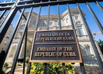 Cuban Embassy in the United States. Photo: EFE / Archive.