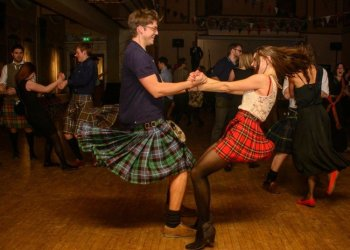 Ceilidh, a typical Scottish celebration with traditional dance and music, can be seen in Cuba during British Culture Week. Photo: colchesterhighlandgames.com