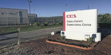 The ICE correction center in Cibola County, New Mexico, where the Cubans are isolated. Photo: ICE