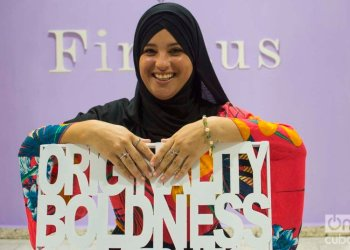 Firdaus, a project that goes beyond a Muslim clothing store. Photo: Otmaro Rodríguez.