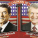Reagan vs Carter campaign.