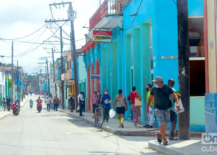 Havana and Matanzas, the provinces that reported new infections until midnight yesterday. Photo: Otmaro Rodríguez.