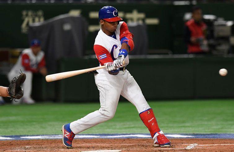 Con su actuación, Yoelkis Céspedes pudiera dar mayor visibilidad al equipo Cuba. Foto: Atsushi Tomura/Getty Images.