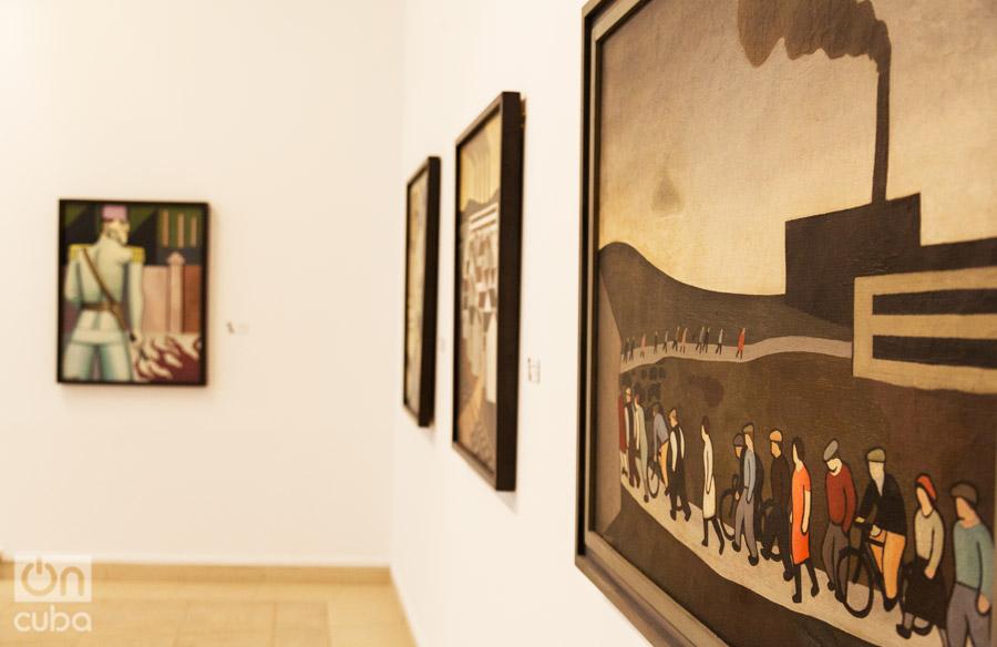 Exposición Marcelo Pogolotti: Vanguardia, Ideología y Sociedad. Foto: Claudio Pelaez Sordo.