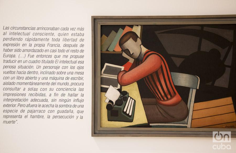 """""""El Intelectual"""" (1937). Foto: Claudio Pelaez Sordo."""