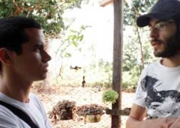 Durante el rodaje de la película / Fotos cortesía del entrevistado