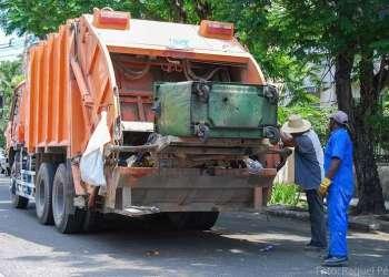 Camión para la recogida de basura