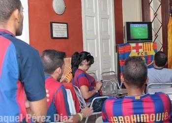 Millones de cubanos vieron este fin de semana en directo y abierto el clásico del fútbol español