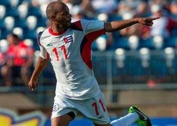 Ariel Martínez es una de las principales estrellas del equipo cubano / Foto: Tomada de Concacaf