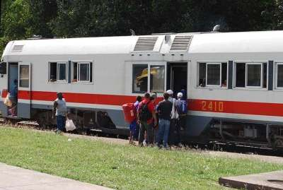 Trains in Cuba came almost to disappear and now its use is being slowly reactivated / Photo: Jorge Carrasco.