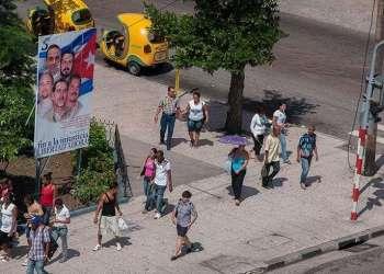 Los 5 agentes presos en los EE.UU. son considerados en Cuba como héroes nacionales / Foto: Raquel Pérez.