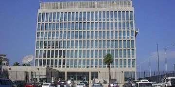 Embajada de los EE.UU en La Habana. Foto: Raquel Pérez.