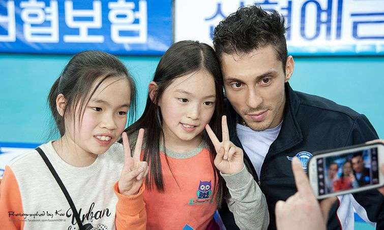 """""""The Russian"""" is one of the biggest stars in the Korean league, one of the favorite players of the fans."""