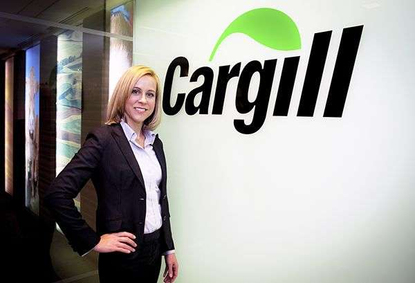 Devry Boughner Vorwerk, CEO of the multinational Cargill