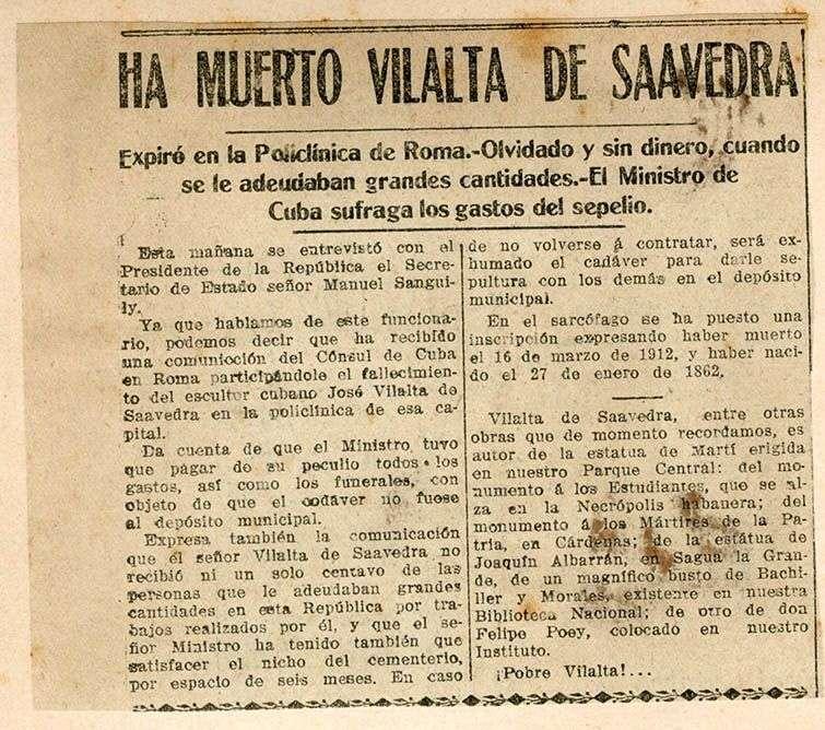 muerte de vilalta en roma 2