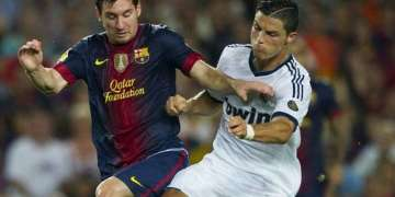 Messi vs. Cristiano, el eterno duelo.