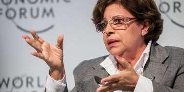 Lina Pedraza, ministra de Finanzas y Precios de Cuba