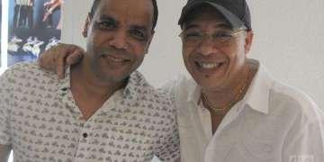Isaac Delgado y Lázaro Caballero, unidos en un proyecto de estreno. Fotos: Roberto Ruiz