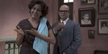 Escena de la película Contigo Pan y Cebolla, junto a Osvaldo Doimeadiós