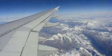 Las zonas próximas a las cadenas montañosas suelen ser zonas de Turbulencia. Alpes suizos. Foto: José Rubiera