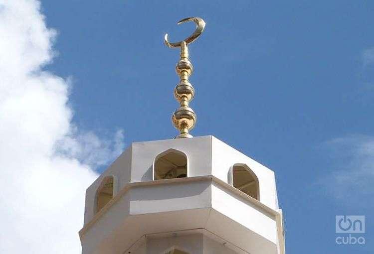 Minarete de la mezquita en la calle Oficios. Foto: Ángel Márquez Dolz
