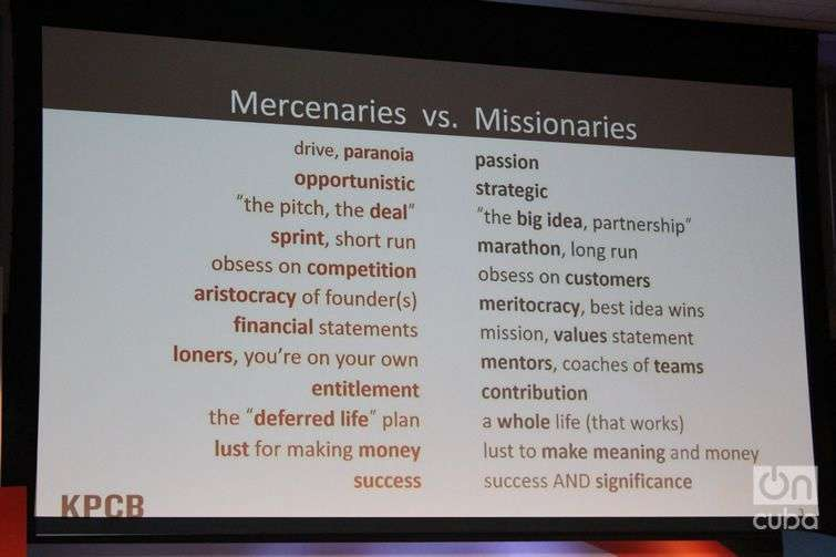mercenarios vs missionaries