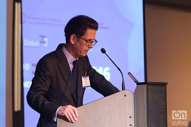 Matthew Perks, Ceo New Energy Events. Photo; Ismario Rodríguez Pérez