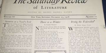 El Saturday Review en el siglo XX.