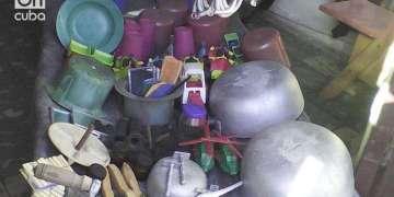 El puesto de Abel Guilarte Lores en Baracoa es muy visitado por estos días. Foto Yelanys Hernández Fusté