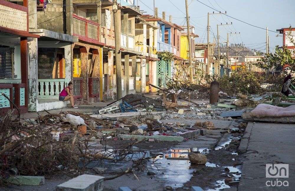 Baracoa después de Matthew. Foto: Denise Guerra.