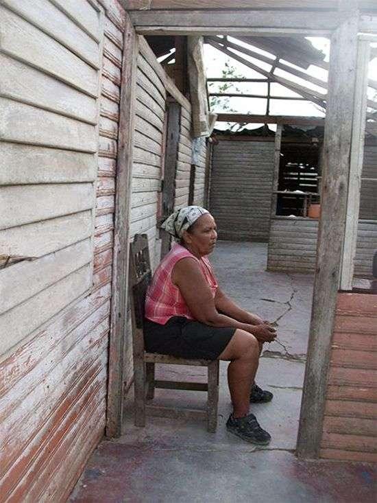 Eugenia Zoila ha llorado tanto que se le ha secado su manantial de lágrimas. Foto: JR